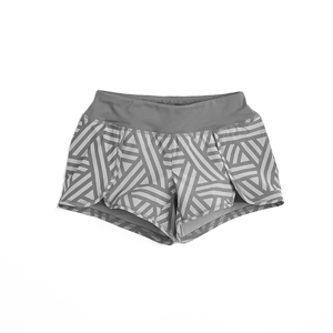 Graphic Gray Shorts