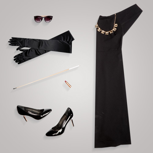 Easy DIY Halloween Costumes: Breakfast at Tiffany's