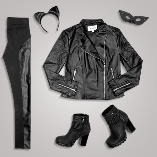 Easy DIY Halloween Costumes: Catwoman