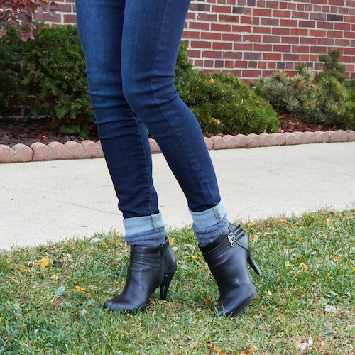 5 easy rules for styling boots with socks