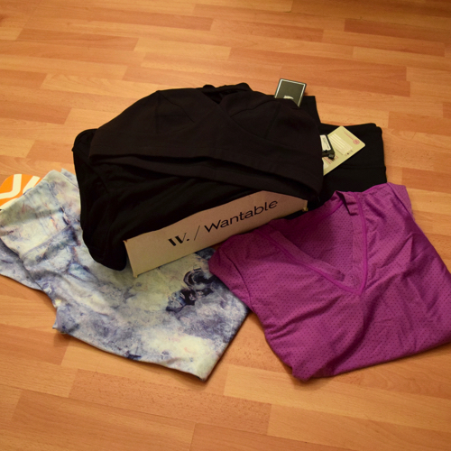 Wantable Fitness Review January 2016