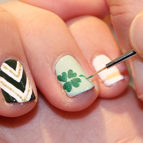 Shamrocks & Sparkles: St. Patrick's Day Tutorial