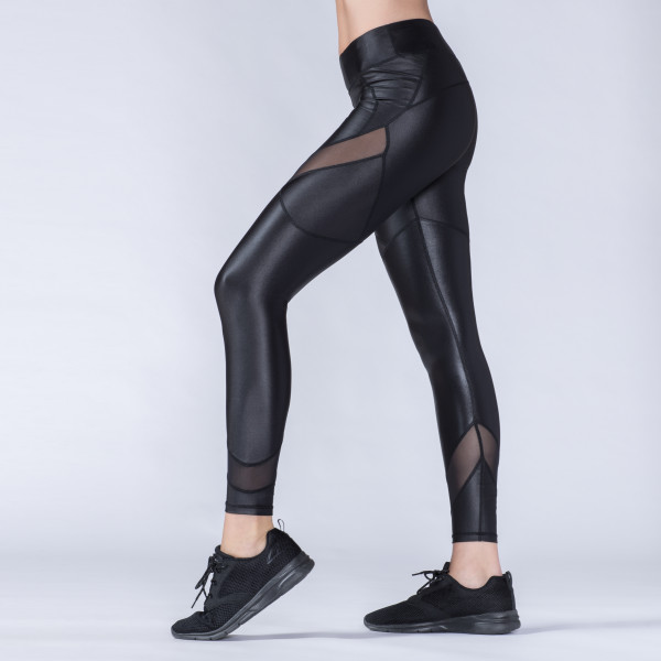 b2fed816e929a Faux Leather with Mesh Legging | Wantable