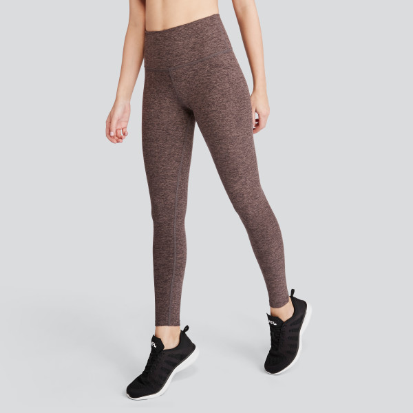 0c4ef252e6 Spacedye Caught In The Midi High Waisted Legging in Terra Leather-Earth |  Wantable