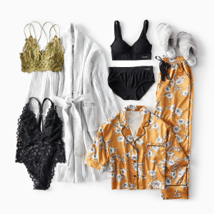 Lingerie and Sleepwear from Wantable Intimates Subscription