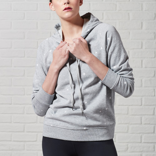 essential fitness gear: star hoodie