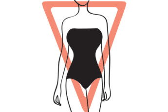 inverted triangle body shape