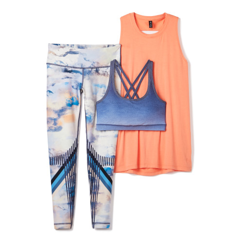 fitness: color combinations for clothes