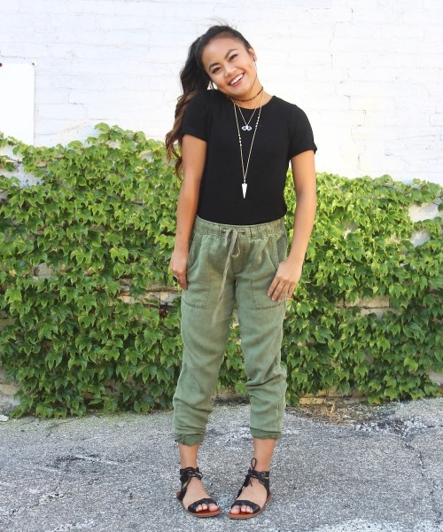 Style a Basic Tee: Jewelry