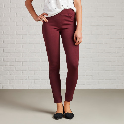 Non-Denim Pants for Fall: Colored Leggings