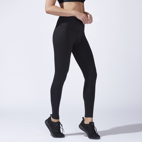essential fitness gear: basic black leggings