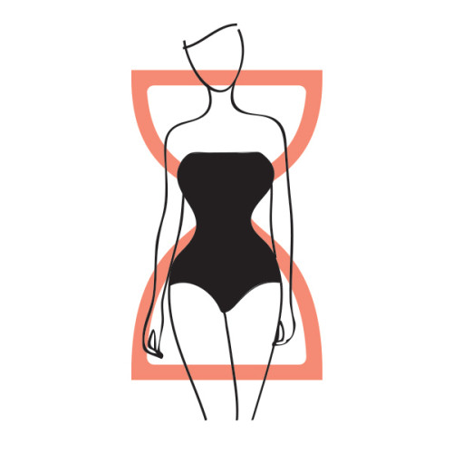 Flatter Your Figure: The Hourglass Body Shape