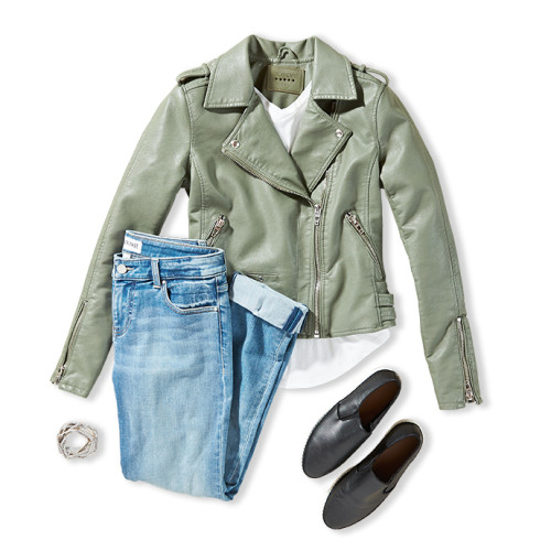 Rectangle Outfit Ideas: Weekend