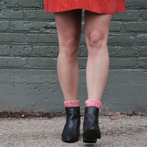 socks with boots: dress