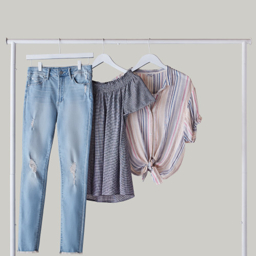 feminine spring styles everyday denim