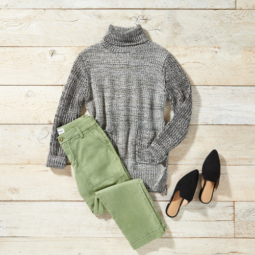 fall sweaters - turtleneck