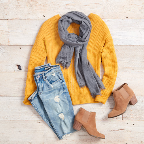 fall sweaters - colorful classic