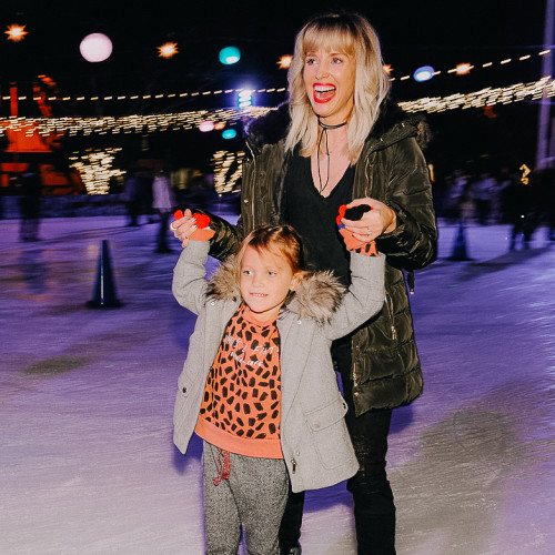 thanksgiving workout : ice skate