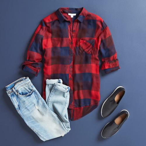 winter wardrobe style essentials: plaid
