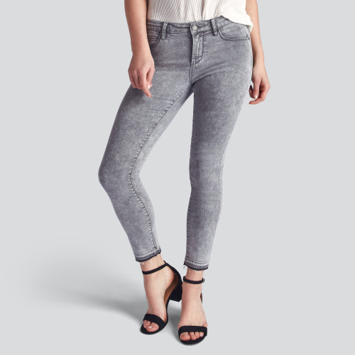 winter to spring: grey denim