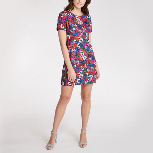 spring dresses: floral shift dress
