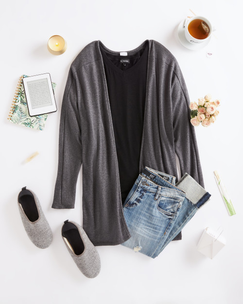 how to wear a dolman sleeve top