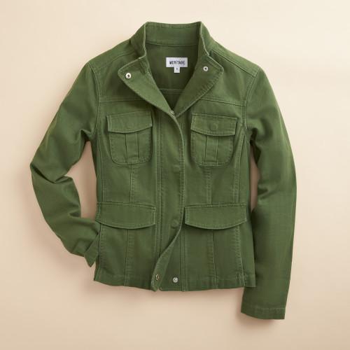 spring jacket: utility jacket