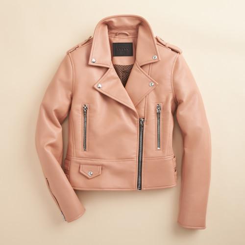 spring jacket: moto jacket