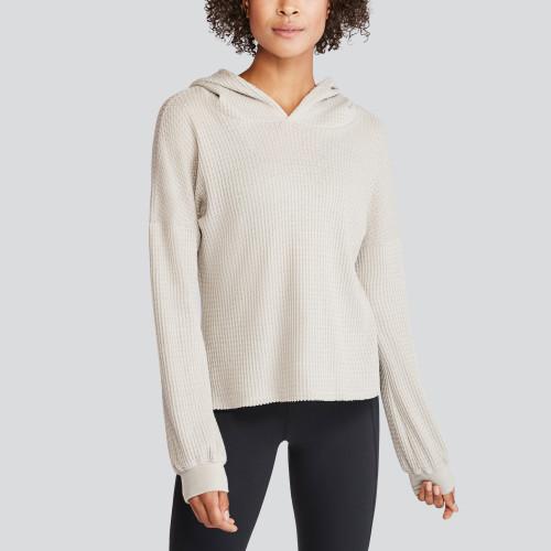 spring colors: pullover hoodie