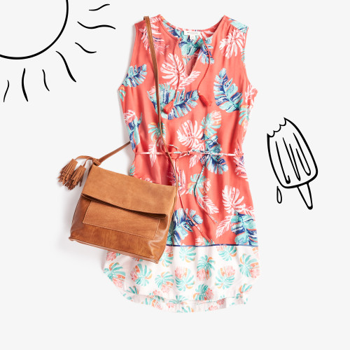 OOO: floral dress