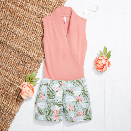 cute summer outfits: tropical prints