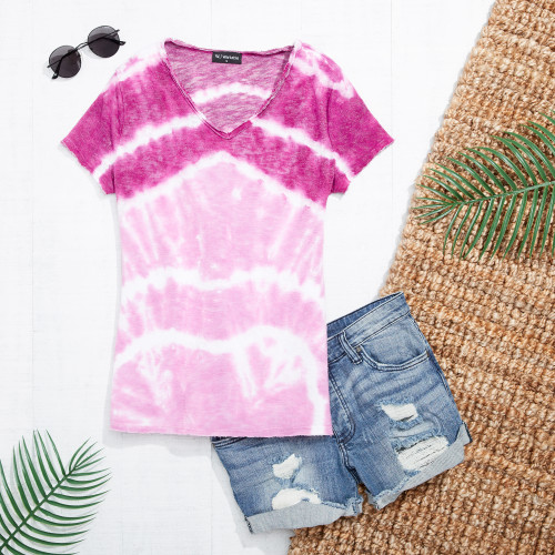 cute summer outfits: tie dye