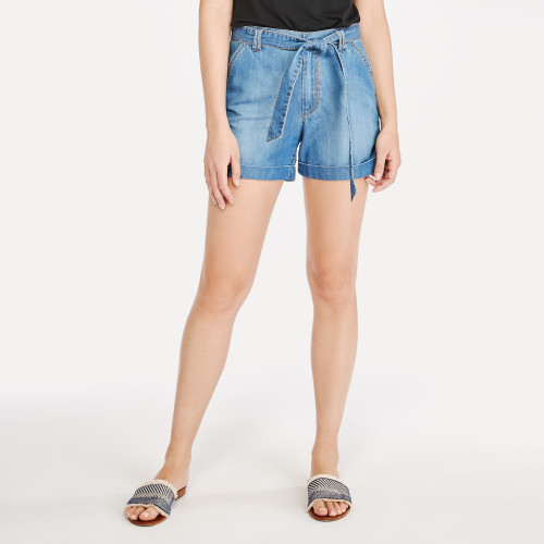 summer style: paper bag shorts