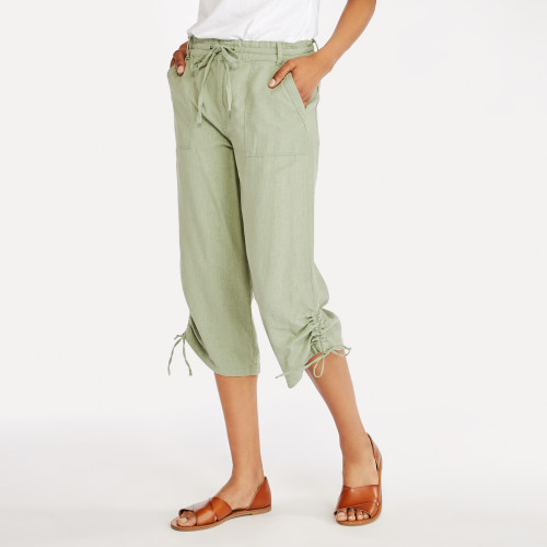 summer style: linen pants