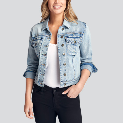 summer style: denim jacket