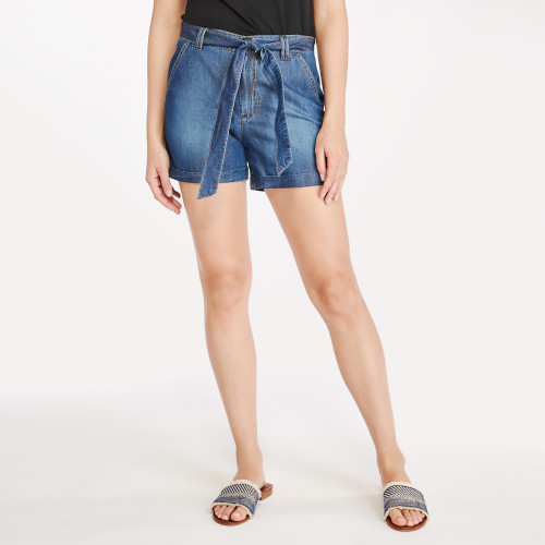 summer shorts: paperbag shorts