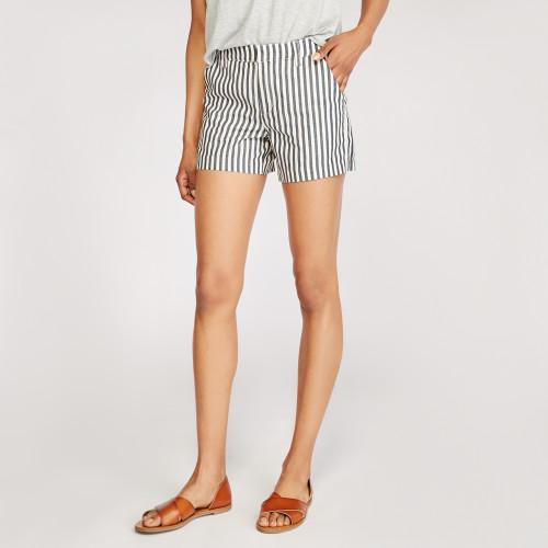 summer shorts: striped short