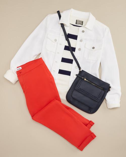 trouser: red trouser