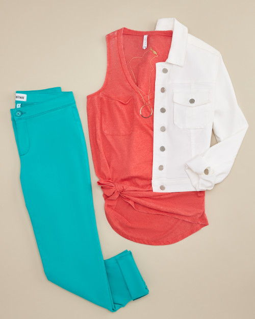 trouser: turquoise trouser