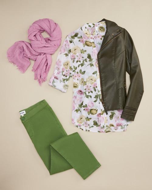 trouser: green trouser
