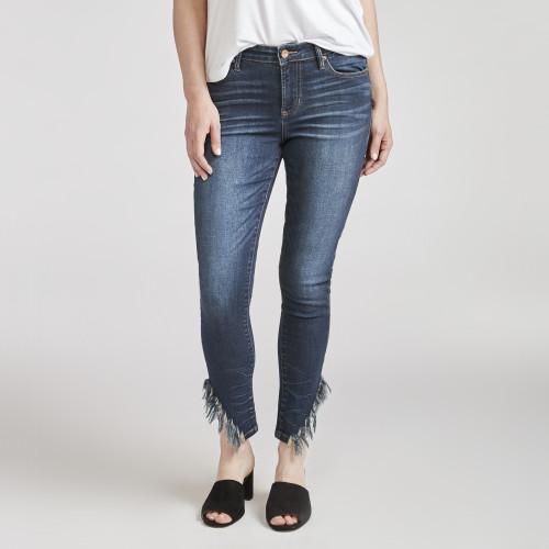 zodiac fashion: frayed hem denim