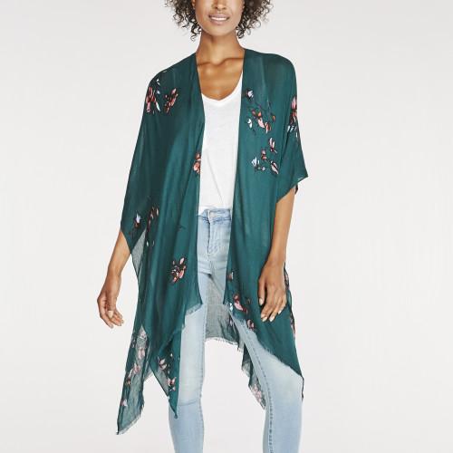 zodiac fashion: flowy kimono