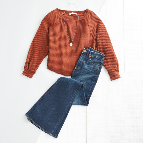 summer-to-fall outfits: pumpkin spice