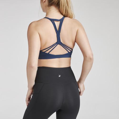 fitness trends: strappy sports bra