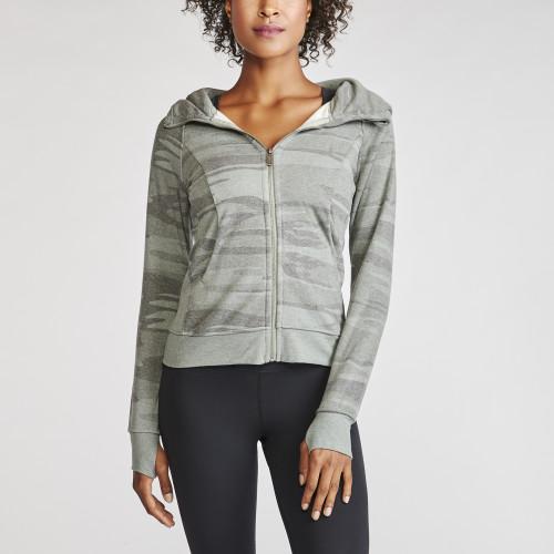 fitness trends: camo hoodie
