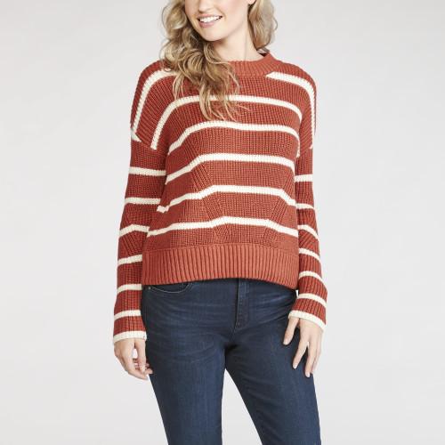 fall sweaters: striped sweater