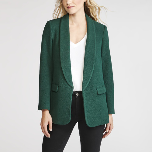 office outfits: colored blazer