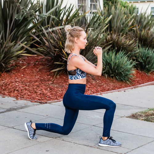 plyometric exercises: lunges