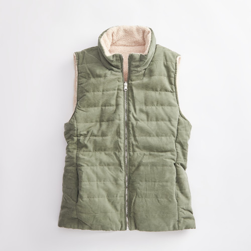 winter clothing: reversible vest