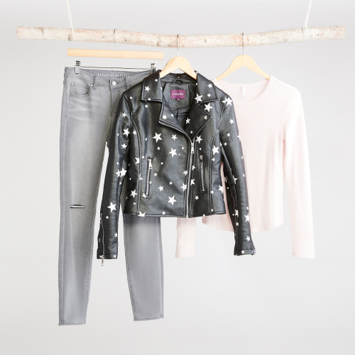 winter jackets: star moto jacket